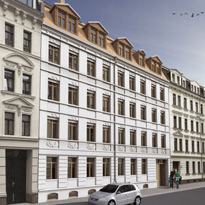 View of Mierendorffstrasse 43 frontage